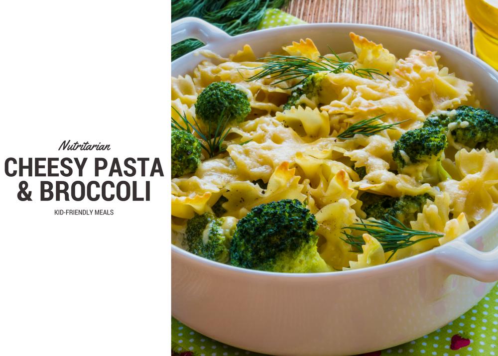 Nutritarian Creamy Pasta & Broccoli - Eat To Live Daily