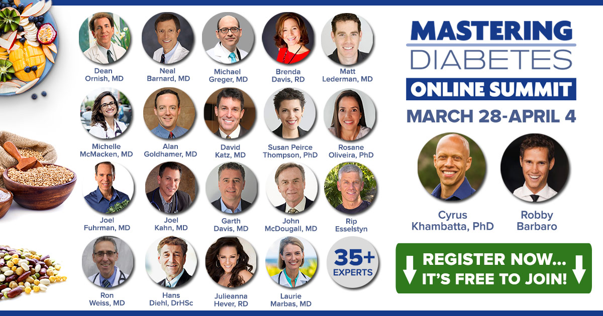 Free Online Summit: Mastering Diabetes