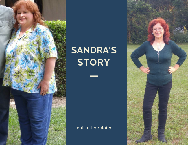 Sandra's Incredible Eat to Live Weight Loss